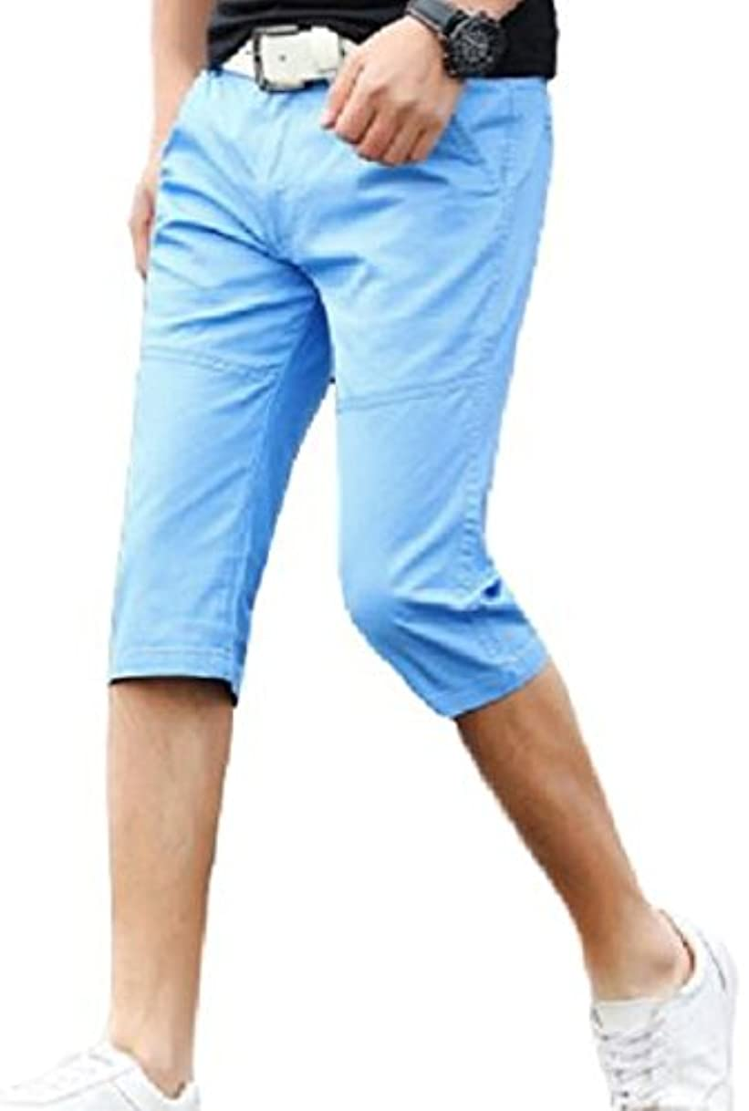 シーケンス勤勉汚染された(ボナスティモーロ) Buona stimolo メンズ ショート ハーフ パンツ 短パン ズボン 七分 丈 クロップド 大きいサイズ も