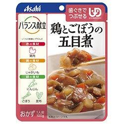アサヒグループ食品 バランス献立 鶏とごぼうの五目煮 100g×24袋入×(2ケース)