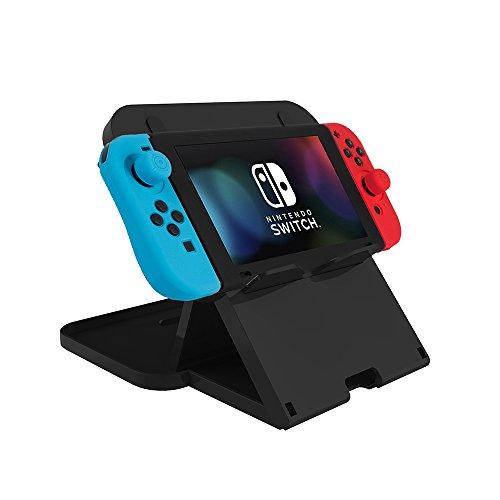 Nintendo Switch スタンド ホルダー Elbest 任天堂プレイスタンド 角度調整可能 スマホ スタンド 充電スタンド ホルダー 対応 携帯電話 アイフォン iPhone 折りたたみ式 ニンテンドースイッチ用 iPad・スマホ適用