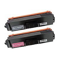 BROTHER TN396-BK + TN396-M 大容量ブラック+マゼンタ2本セット 〈ブラザー〉良質互換トナーカートリッジ 残量表示機能/1年間保証付き〈Chip製〉