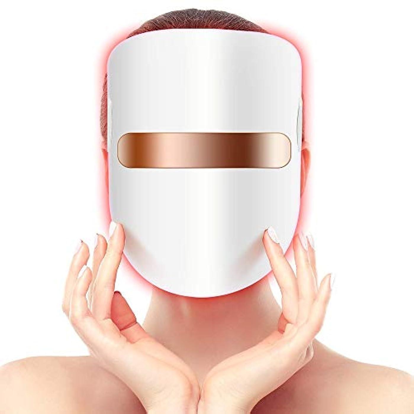 ラベル歴史的マディソン光療法にきび治療ledマスク療法無制限セッションのためににきび肌治療アンチリンクルホワイトニング肌の若返り楽器