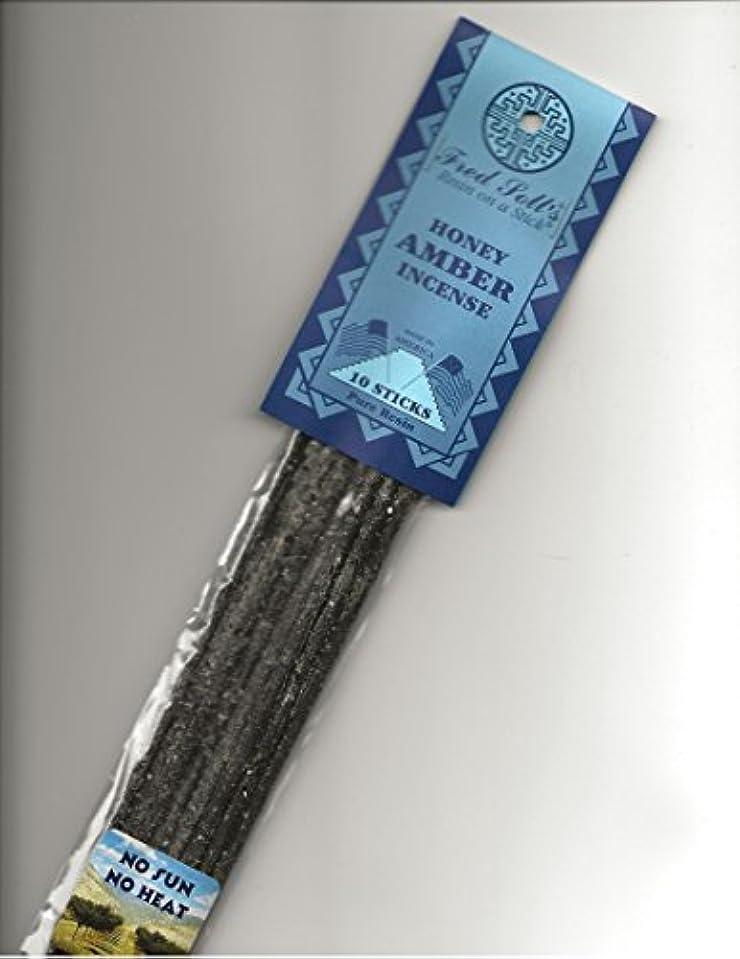 言語学見えない溶かすFRED SOLL'S 樹脂製スティック式ハニーアンバーのお香