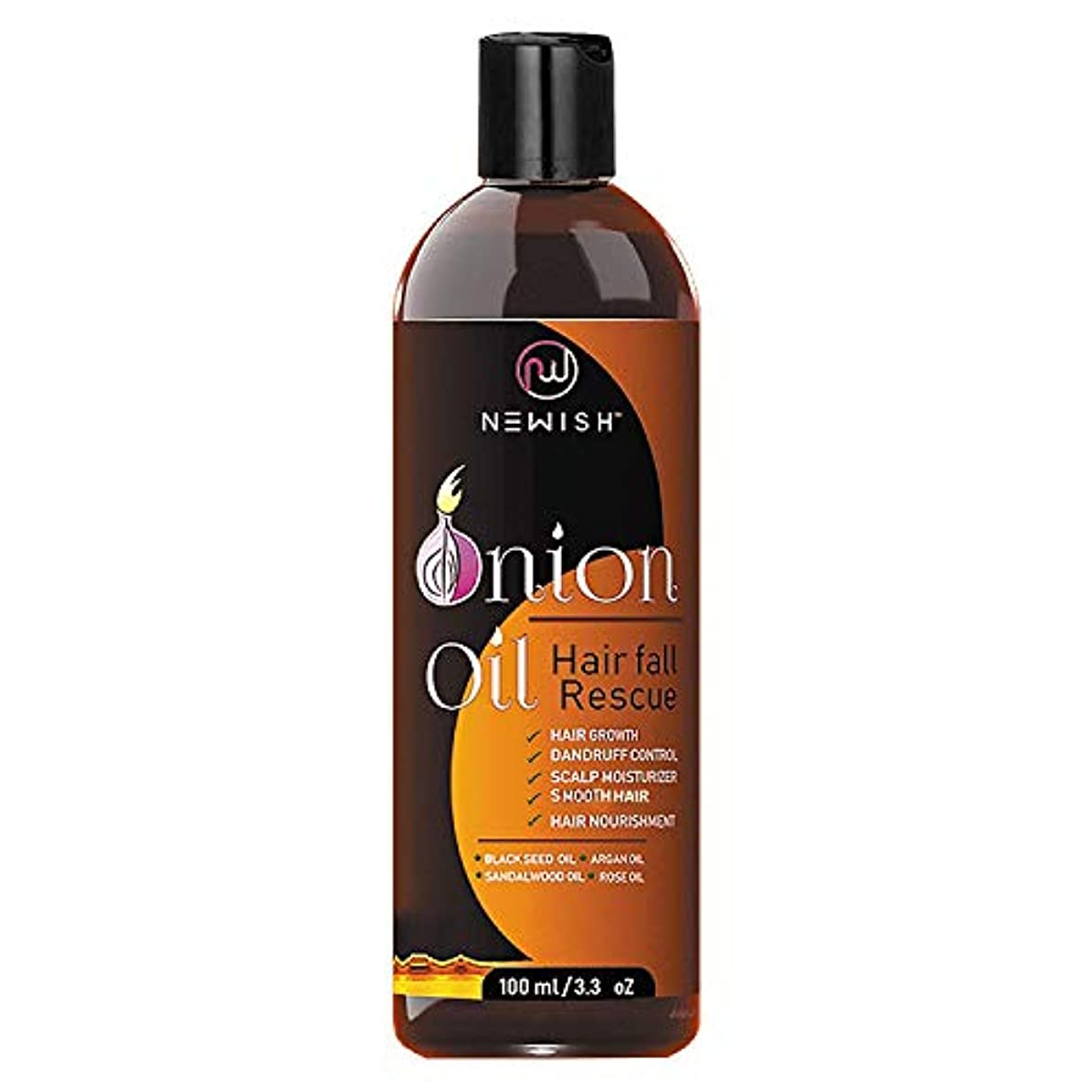 リビングルームホイップランデブーNewish Red Onion Oil for Hair Regrowth Men and Women, 200ml