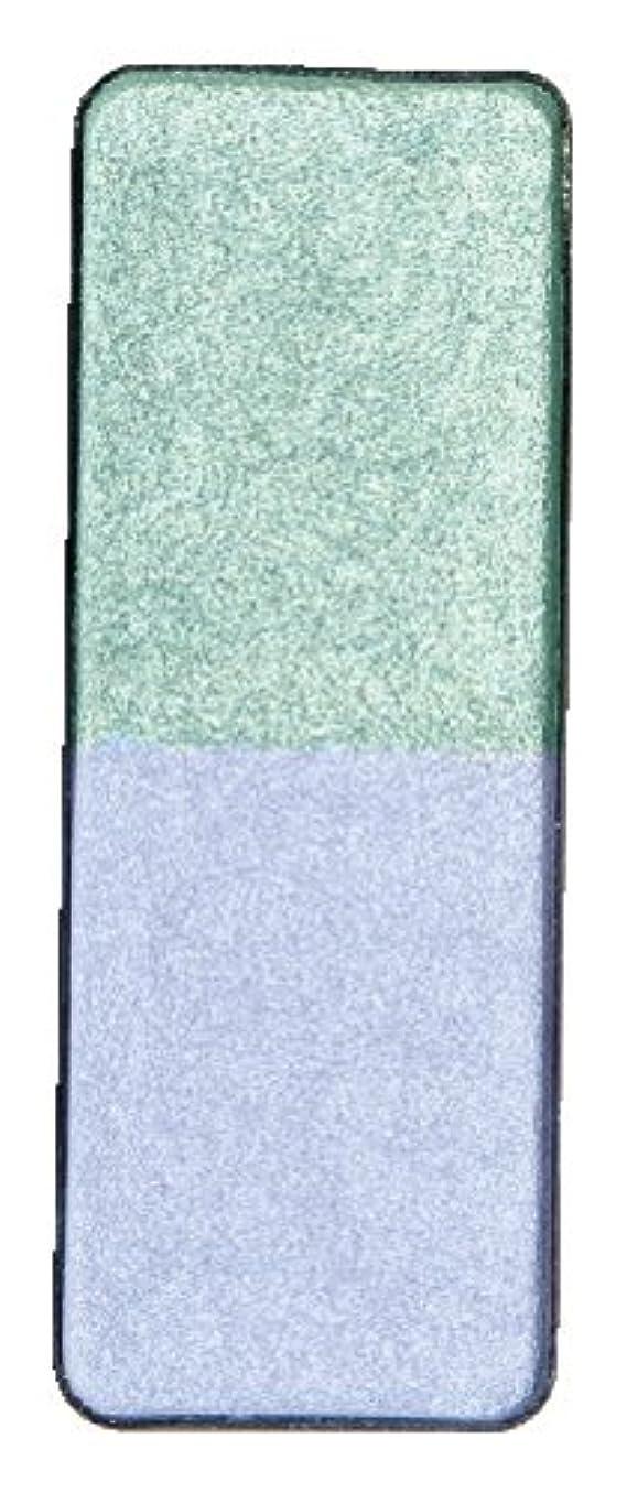 財布緩める乱雑なヴィザージュ ツインカラー 0602 アイスパ^プル/グリーンゴールド