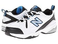 New Balance(ニューバランス) メンズ 男性用 シューズ 靴 スニーカー 運動靴 MX608v4 - White/Royal 8 4E - Extra Wide [並行輸入品]