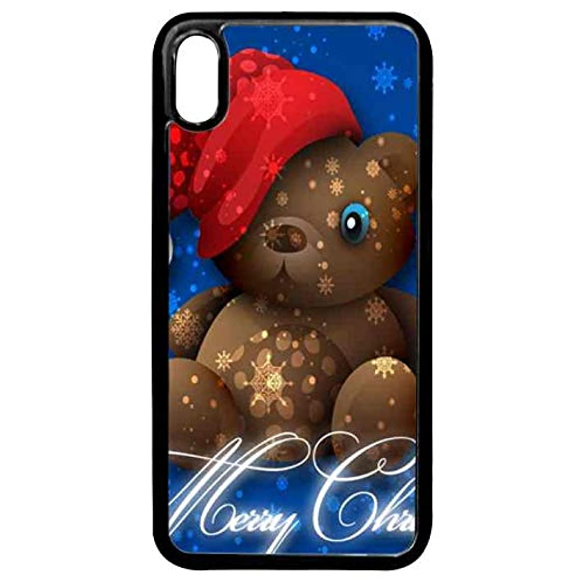 レディデザートテープiPhone XS Max ケース iPhone XS Max スマホケース クリスマス かわいいクマ iPhone XS Max 対応 携帯電話ケース 完全保護スマホケース iPhone XS Max スリムハードケース