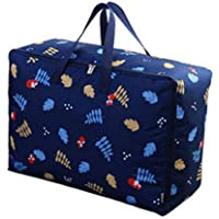 服のキルトオックスフォード布の収納袋高品質の旅行の主催者の羽毛布団の掛け布団衣類の仕上げ荷物の収納袋 (サイズ さいず : 55 * 35 * 20cm)