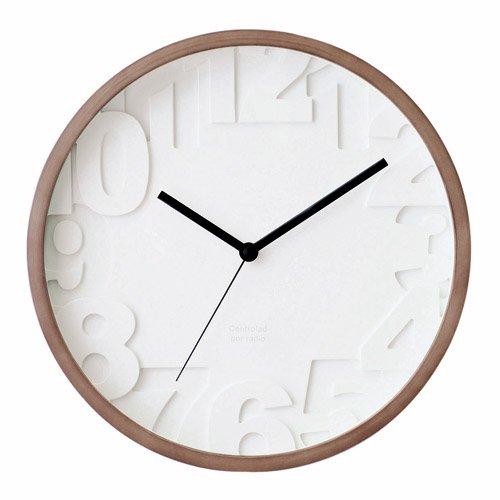 MATIZ WALL CLOCK WALNUT (マティス ウォール クロック ウォールナット) CL-6861WA