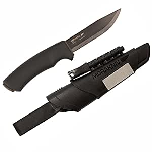 モーラ・ナイフ Mora knife Bushcraft Survival Black