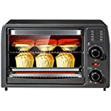 15L Mini Electric Oven Multi-Function Adjustable Temperature Control Timer Home Baking Dried Fruit Machine Automatic Double Layer