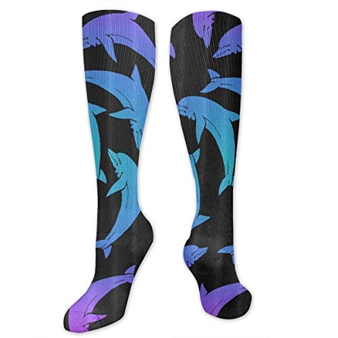 かもめアセンブリシニス靴下,ストッキング,野生のジョーカー,実際,秋の本質,冬必須,サマーウェア&RBXAA Marine Dolphin Socks Women's Winter Cotton Long Tube Socks Cotton...