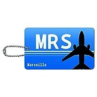 Marseille フランス(MRS)空港コード IDカード荷物タグ
