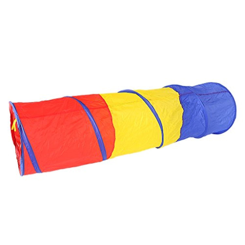 Blesiya 折り畳み式 子供 室内 室外 ポップアップ トンネル 幼児 遊び場 楽しみ テント プレイハウス 贈り物 ギフト プレゼント