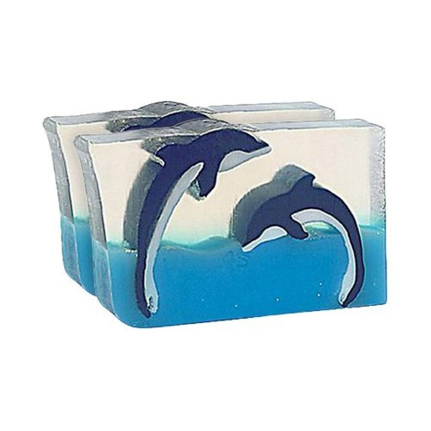 キャップ参加する足Primal Elements SWDD Dueling Dolphins 5.8 oz. Bar Soap in Shrinkwrap