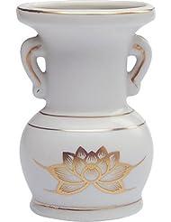 花立て 陶器(白磁)