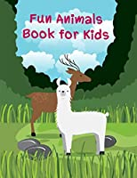 Fun Animals Book For Kids: Coloring Pages Christmas Book, Creative Art Activities for Children, kids and Adults (Funny Sport)