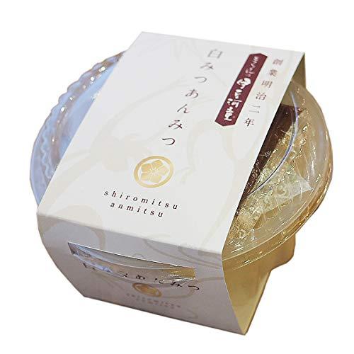 伊豆河童 カップ入り 白蜜あんみつ 1個 和風デザート 角切りところてん