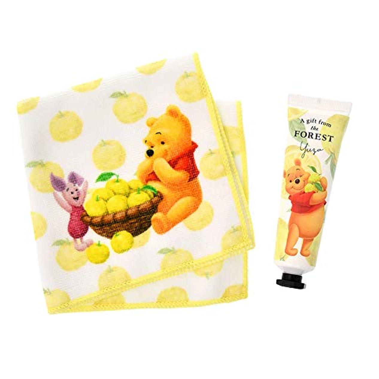 誘惑夢引き受けるディズニーストア(公式)プーさん&ピグレット ハンドクリーム セット Yuzu Pooh