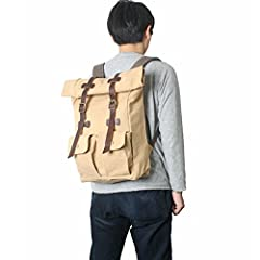 Roll-Top Daypack 2100001665722: Beige