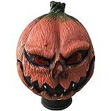 ハロウィーンマスク、カボチャラテックスマスク、ハロウィーン、テーマパーティー、カーニバル、レイブパーティー、バーに適しています。