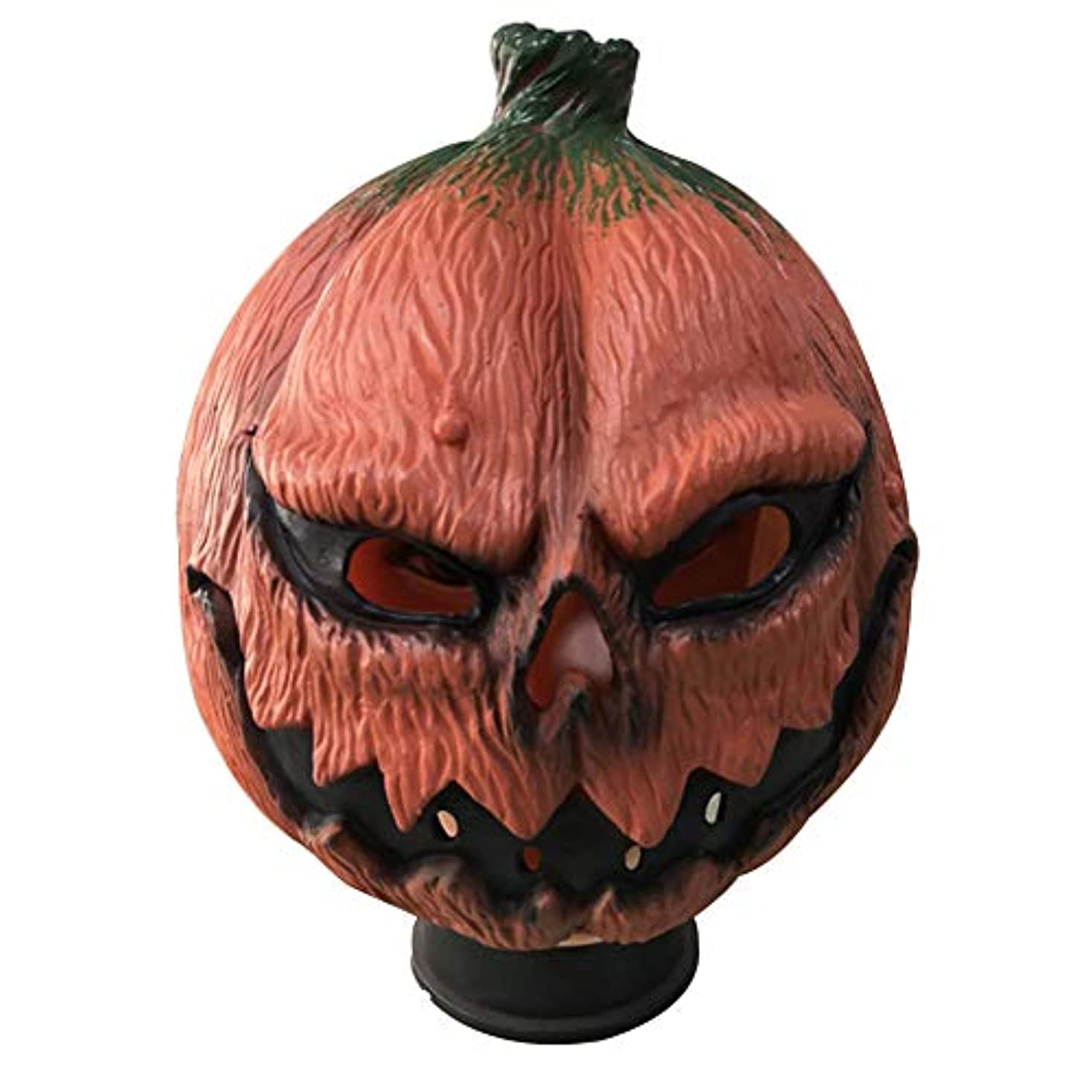 ボタンかもめ可愛いハロウィーンマスク、カボチャラテックスマスク、ハロウィーン、テーマパーティー、カーニバル、レイブパーティー、バーに適しています。