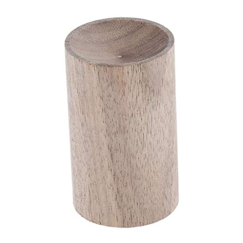 ビーム摂氏わかりやすいBaoblaze 天然木 ハンドメイド エアフレッシュナー エッセンシャルオイル 香水 アロマディフューザー 2種選ぶ - 02, 3.2cm
