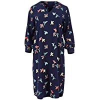 Handpicked by Birds Womens Knee Length Dresses Puff Sleeve Dress Inflight