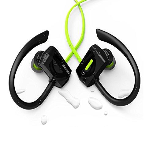 iClever Bluetooth スポーツイヤホン 耳掛け イヤーフック型 Bluetoothヘッドホン スポーツ仕様 防水 IC-BTH07