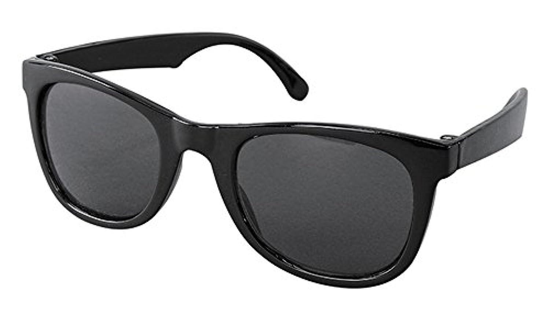 スパイス(SPICE) キッズファッションサングラス キッズ用 SQUARE BLACK SFKY1504