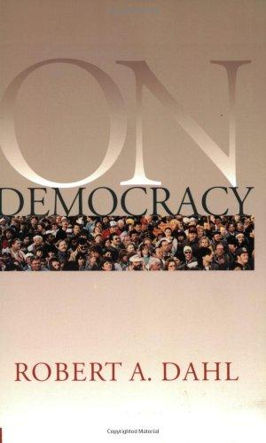 On Democracy (Yale Nota Bene)の詳細を見る