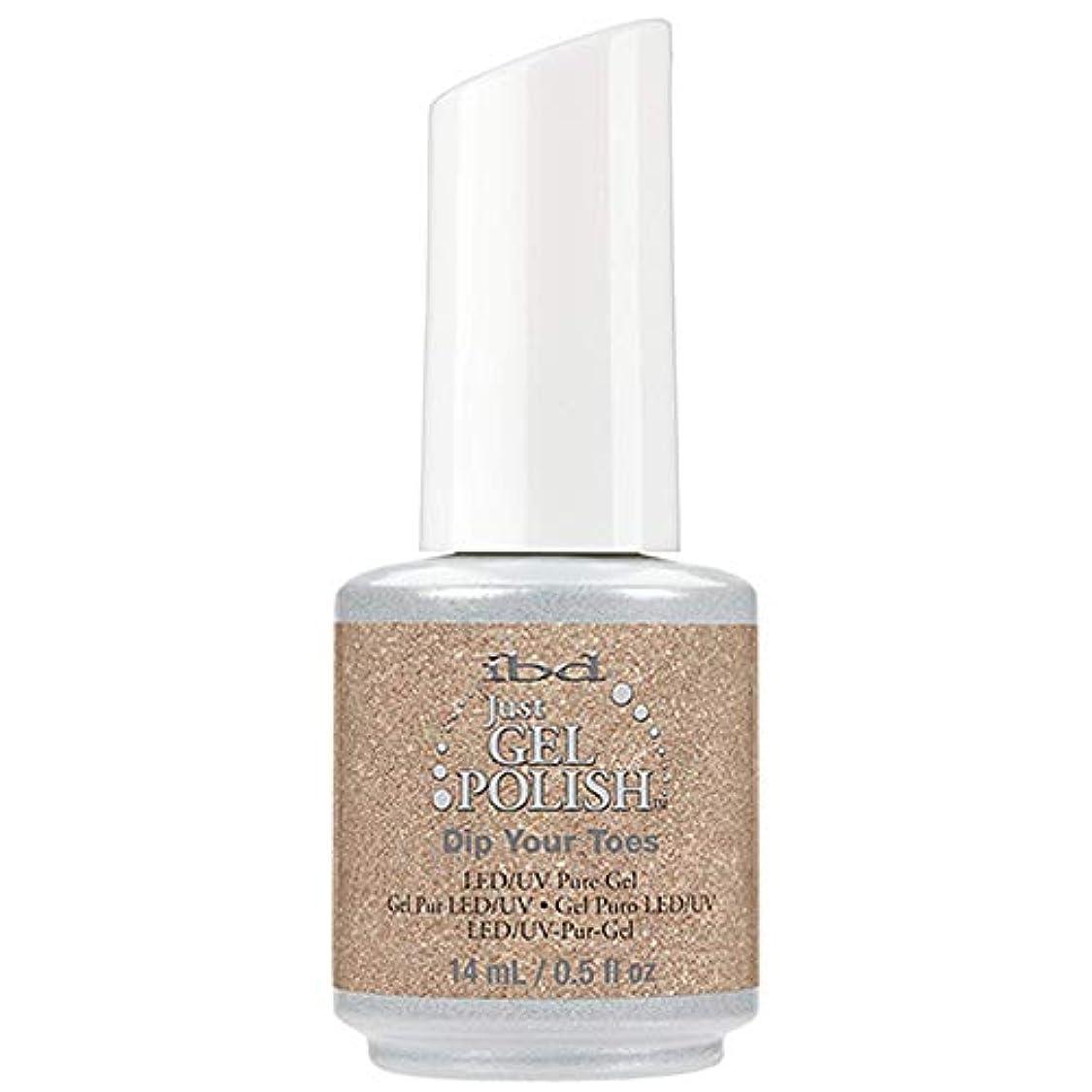 リングレット午後ロンドンibd Just Gel Nail Polish - Dip Your Toes - 14ml / 0.5oz