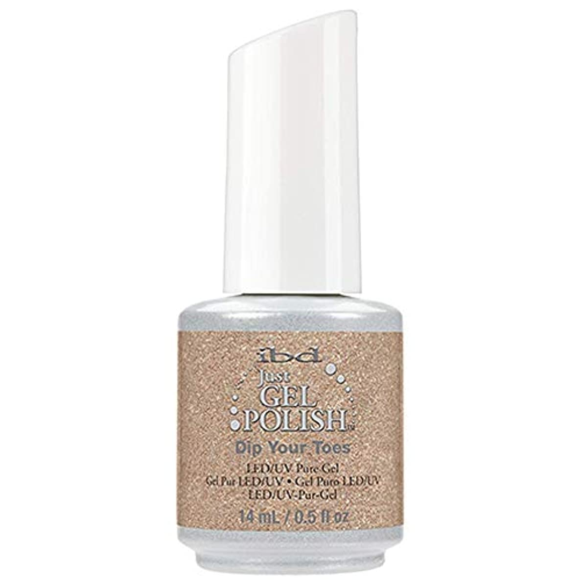 特定の物理的にかけがえのないibd Just Gel Nail Polish - Dip Your Toes - 14ml / 0.5oz