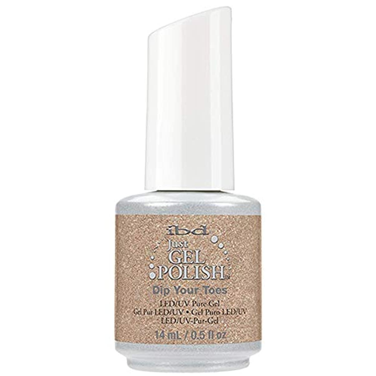 過度の不幸負ibd Just Gel Nail Polish - Dip Your Toes - 14ml / 0.5oz