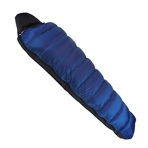 NANGA(ナンガ) 寝袋 アウトレット訳ありダウンシュラフ300STD 最低使用温度-4度 ブルー 右ジッパー