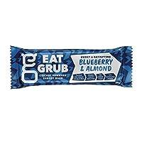 [Eat Grub] グラブブルーベリー&アーモンド自然エネルギーバー36グラムを食べます - Eat Grub Blueberry & Almond Natural Energy Bar 36g [並行輸入品]