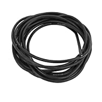 RC用DealMux 2メートル18AWGブラックゲージ柔軟な銅製ケーブルシリコーンワイヤー