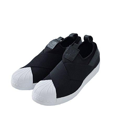 """(アディダス オリジナルス)adidas Originals ストレッチストラップスリッポン""""SUPERSTAR SlipOn"""" 23.5cm コアブラック(col.bz0112) ss-slipon-23h-bz0112"""