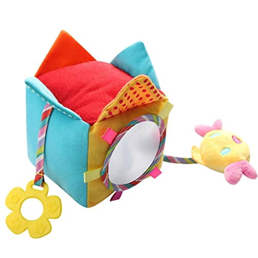 ダメージとしてフォルダToygogo 赤ちゃんのガラガラをつかむのが簡単な開発用の柔らかいおもちゃ