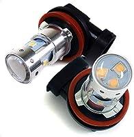 フレア LED フォグランプ スズキ H8 30W フォグ ランプ ジャップ製 2個セット ホワイト