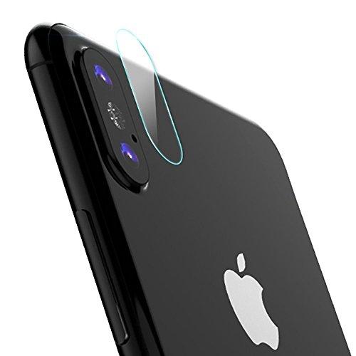【お買い得2枚セット】iPhone8 plus カメラレンズ 強化ガラス保護フィルム SUKEY 強化ガラスフィルム 液晶保護 高透過率99.9% 超薄い 気泡防止 飛散防止 防爆裂 自動吸着 スムースタッチ 耐久性 iPhone8 plus レンズ保護フィルム×2枚 (iPhone8 plus)