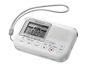 SONY メモリーカードレコーダー LX30 ホワイト ICD-LX30/W