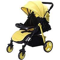 赤ちゃんのベビーカー軽量リクライニング二方向超軽量ポータブル折りたたみショック傘bb夏のベビーカー四輪車を座ることができます