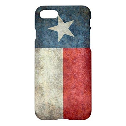 テキサス州の州の旗のヴィンテージのレトロのスタイルのiPhoneの場合iPhone7ケース 専用 スマホケース 携帯電話ケース おしゃれ おもしろ かわいい
