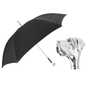 PasottiチェックLabradorハンドル傘