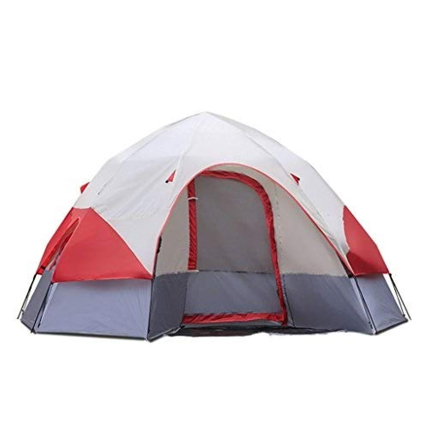 ボーカル変換する親密なテント、キャンプテント、自動パオ防雨屋外キャンプ家族のテント