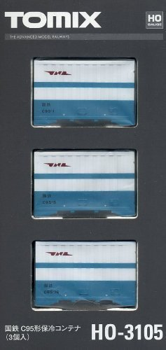 TOMIX HOゲージ HO-3105 国鉄 C95形保冷コンテナ (3個入)