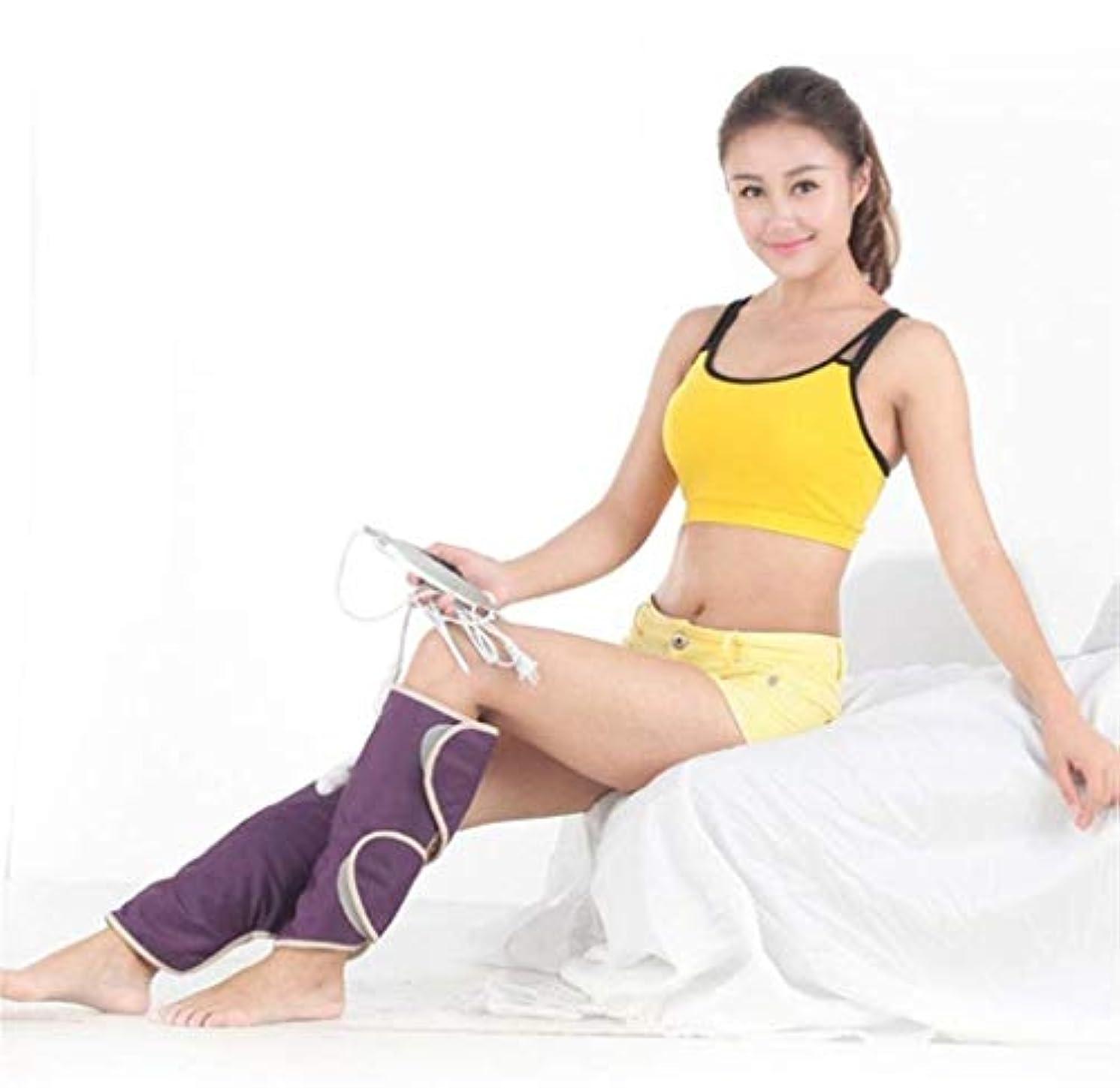 手流産火薬電気マッサージ器、遠赤外線電気膝パッド、3つの振動モード、理学療法装置、血液循環の促進、筋肉の弛緩