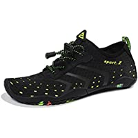 Heeta Water Sports Shoes for Women Men Quick Dry Aqua Socks Swim Barefoot Beach Swim Shoes