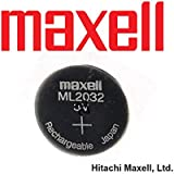 Maxell 3V ML2032 Lithium Rechargeable LIR2032 CMOS Battery ML 2032(Loose)