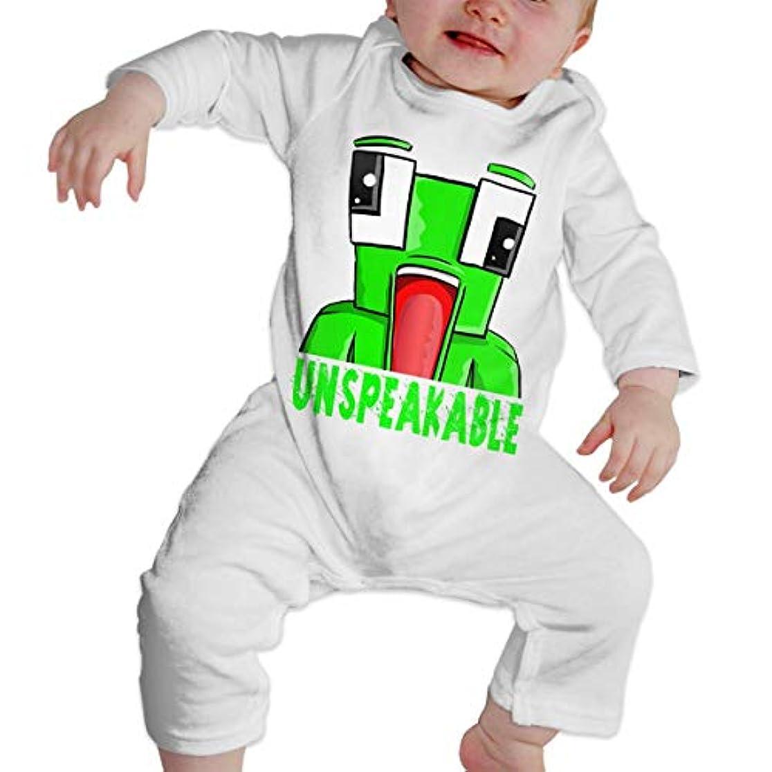 球体チキン手錠Baby's、Kid's、Infant Utility、Cotton ジャンプスーツ、ロンパース、衣類、ボディスーツユニセックスベビークローラーホワイト 6M